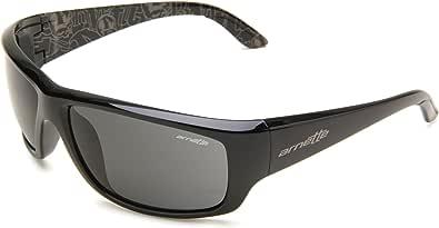 Arnette Men's AN4166 Cheat Sheet Rectangular Sunglasses