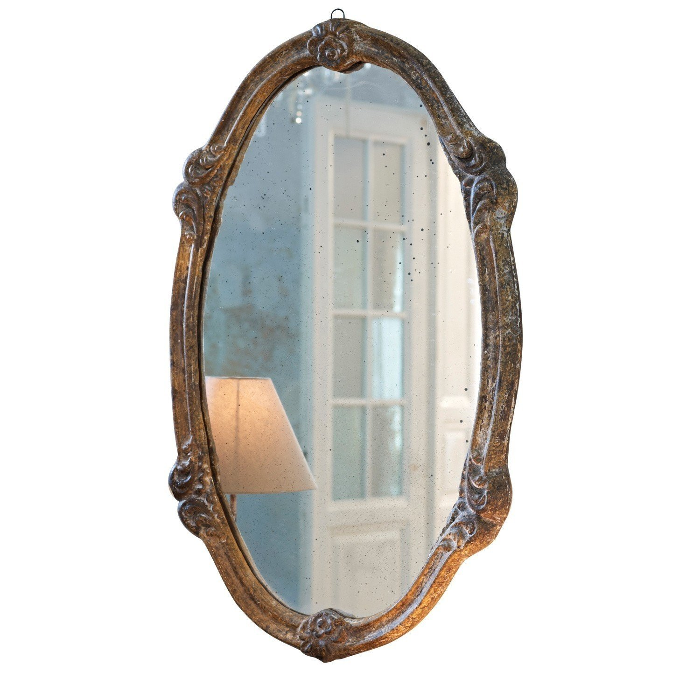 Loberon Spiegel Nexon, Polyresin, H H H B T ca. 89 55   4 cm, braun ff0db0