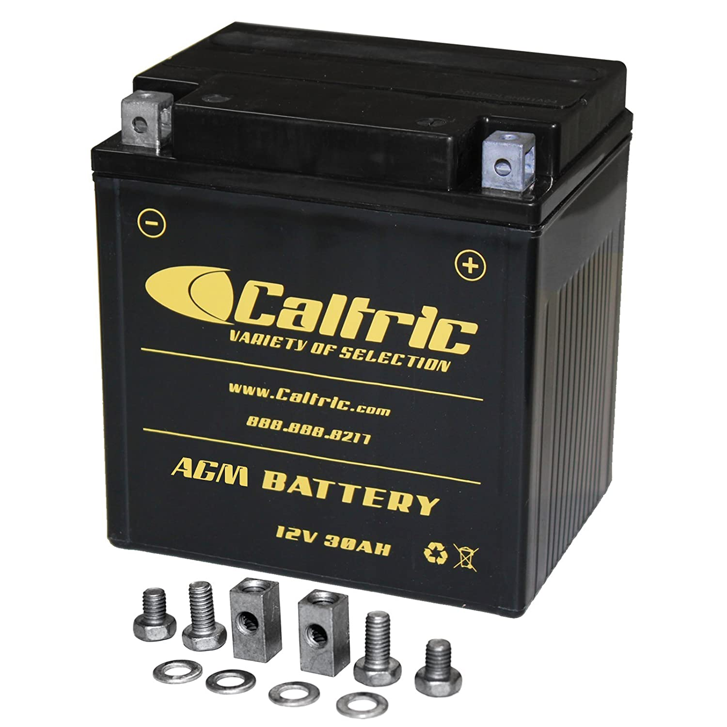 CALTRIC AGM BATTERY Fits POLARIS SPORTSMAN 700 4X4 2002-2006