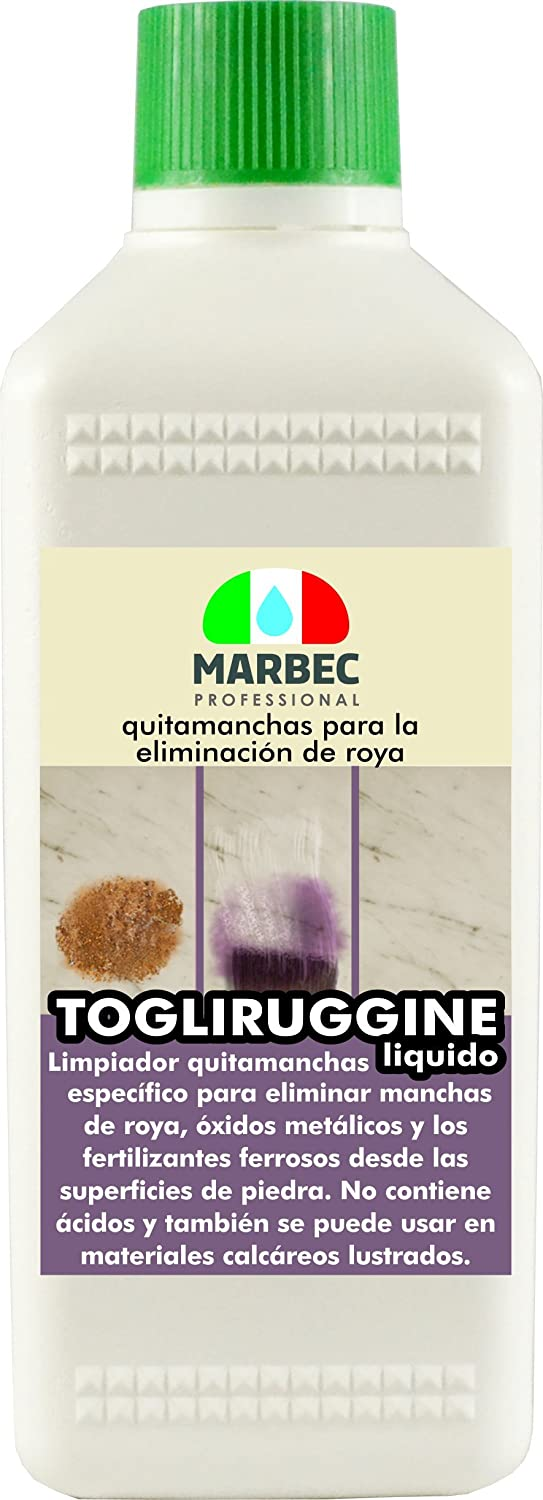 Marbec - TOGLIRUGGINE LIQUIDO 500 ML | Quitamanchas ...