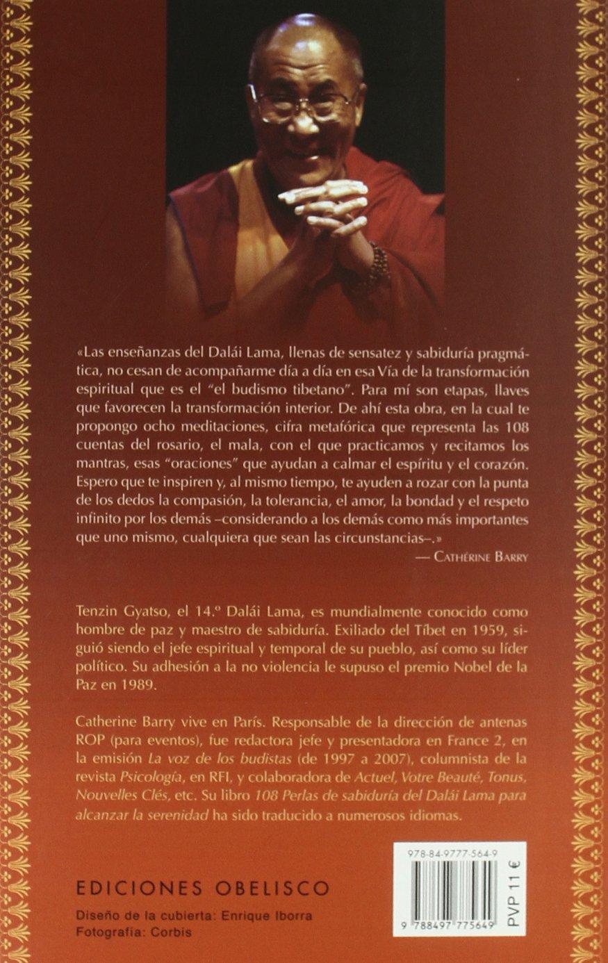 108 Perlas De Sabiduría Del Dalai Lama Metafísica Y Espiritualidad Spanish Edition Barry Catherine Guerrero Jiménez Pilar 9788497775649 Books