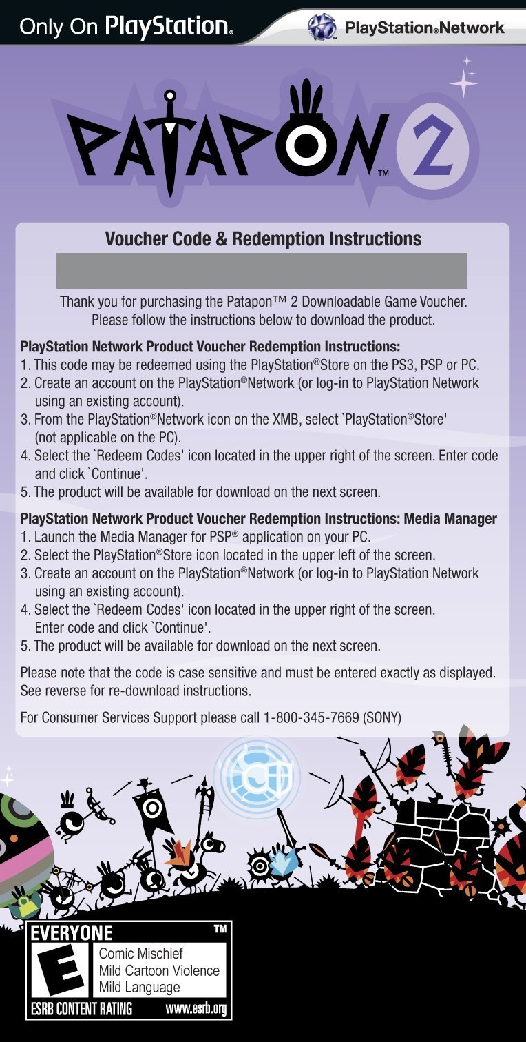 Patapon 2 (Downloadable Game Voucher) - Sony PSP by Sony (Image #5)