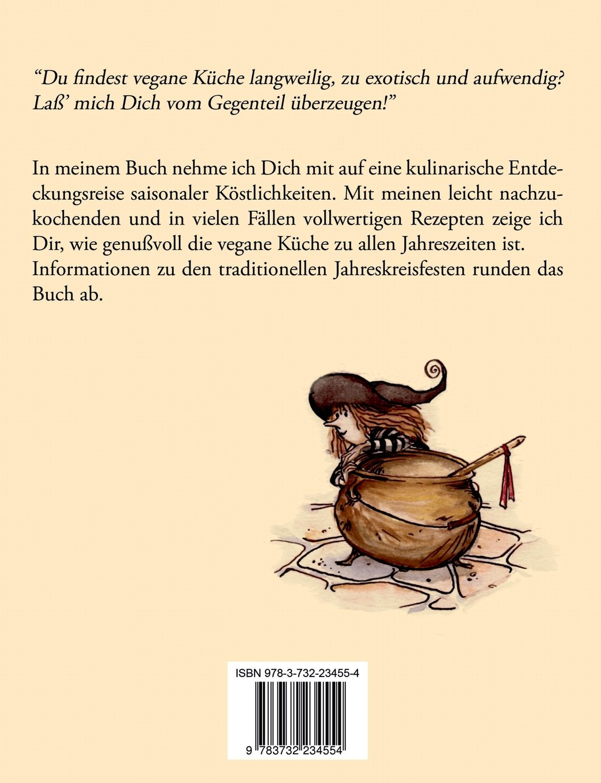 Meine vegane Hexenküche im Jahreskreis: Amazon.de: Amala Krähenfeder ...