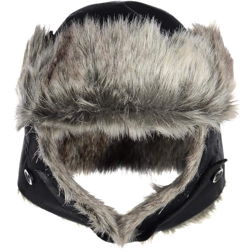 Polarn O. Pyret Insulated Trapper HAT (6-10YRS) - Black/6-9 Years