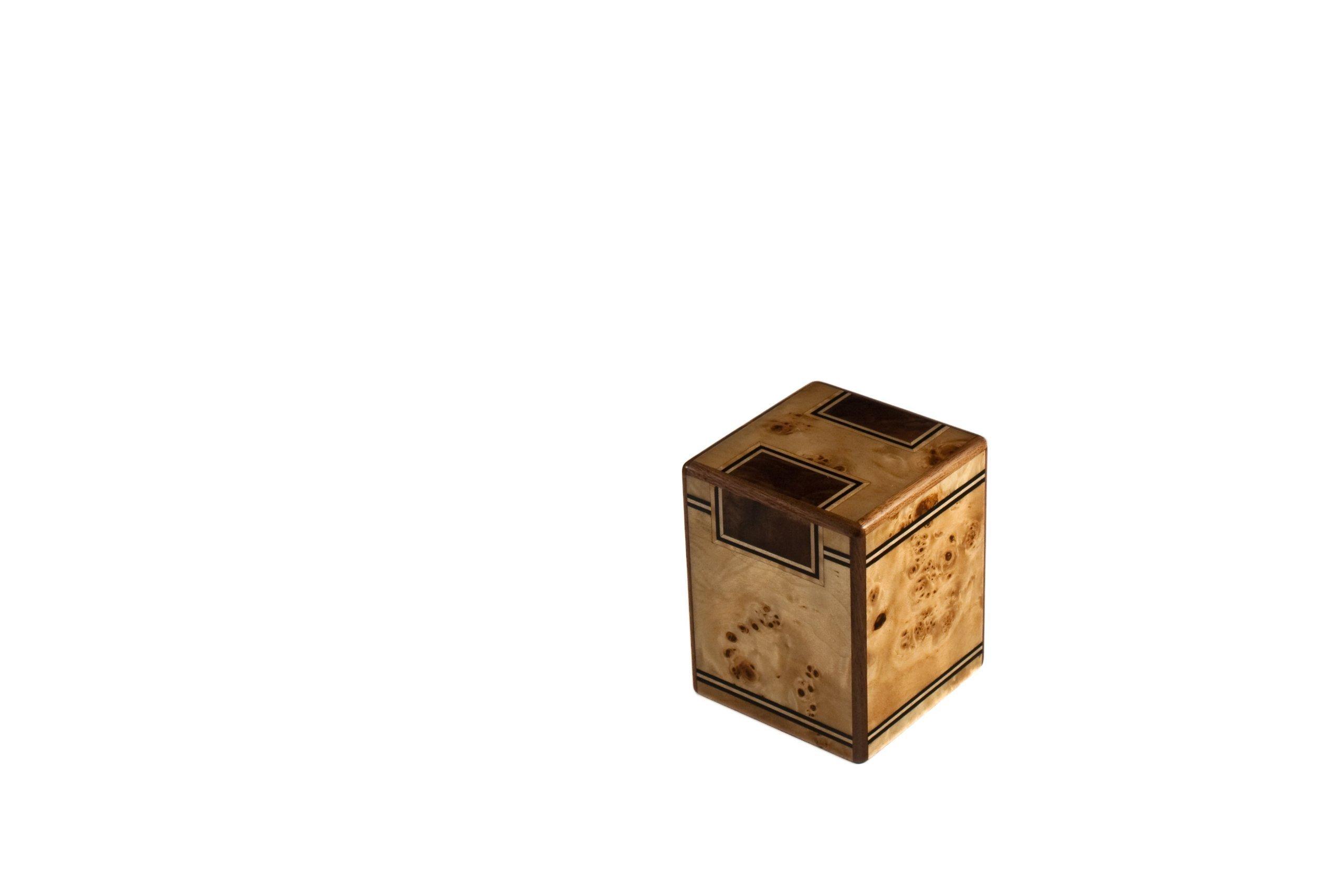 Chateau Urns, Premium Small wood Pet Urn, Keepsake Urn Chambord series by Unforgettable Urns