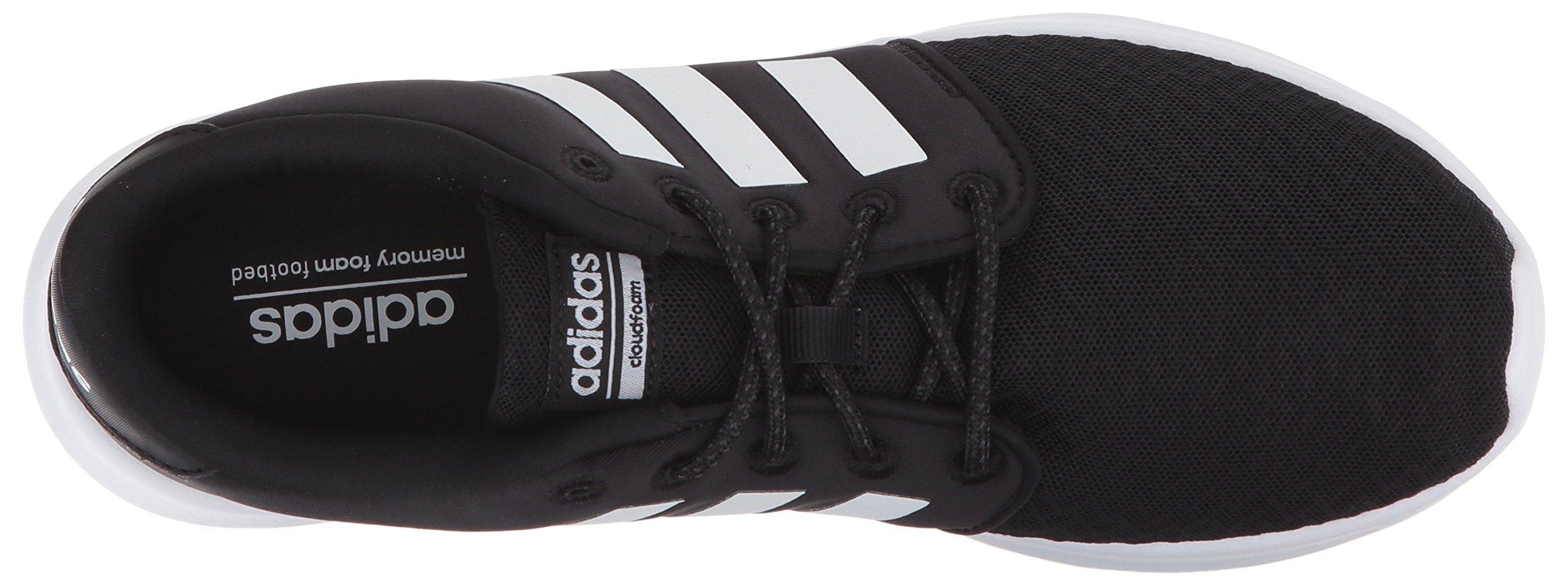 adidas Women's Cloudfoam QT Racer Running Shoe, Black/White/Carbon, 5 M US by adidas (Image #8)
