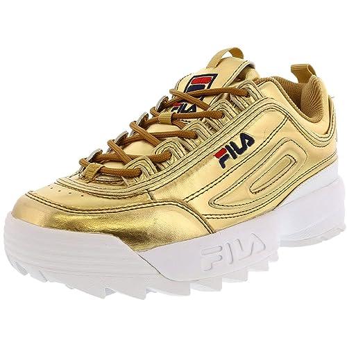 Fila Women's Disruptor Ii Metallic Gold