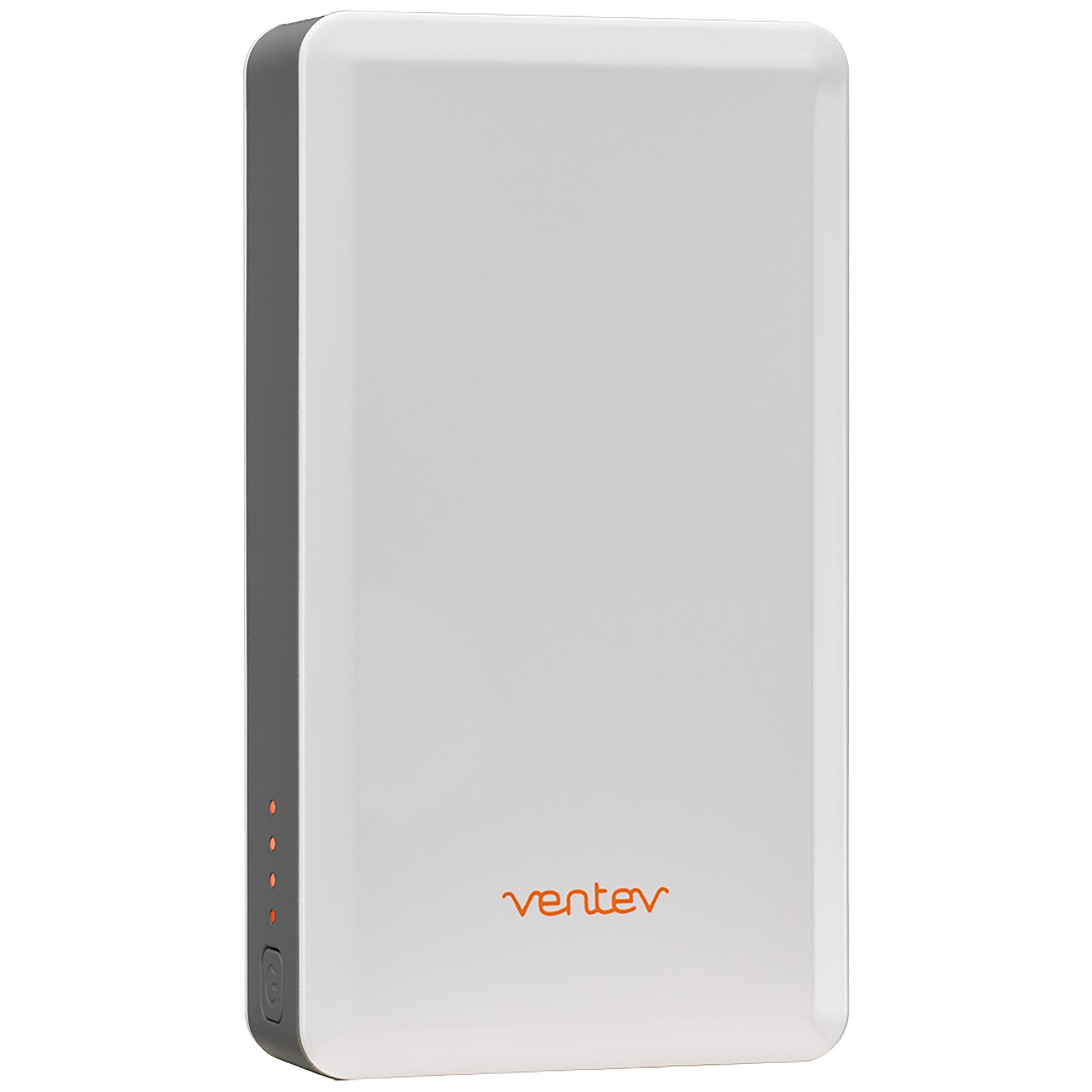 Ventev powercell 6000 - Two Port 6000mAh Portable Battery, White/Gray (Certified Refurbished)