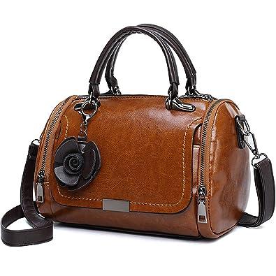 aed3b5ae33b6 Small Cute Unique Shape Handbag for Women - Ladies Top-Handle Bag and Purse  (Mini Barrel)  Handbags  Amazon.com