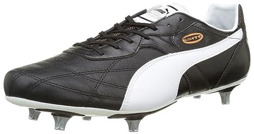 Puma Classico Ifg Scarpe da Calcio Uomo Nero Black White 01 44 EU