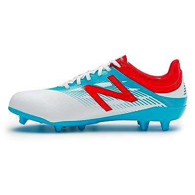 e90132e4e537 New Balance Childrens Kids Football Furon 2.0 Dispatch Firm Ground Boots -  White - 5