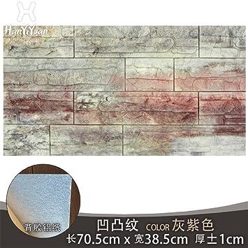 GOUZI Kultur Steinfliesen Texturen Für 3d Wand Fliesen Grün Wandhalterung,  Die Taktile: Grau