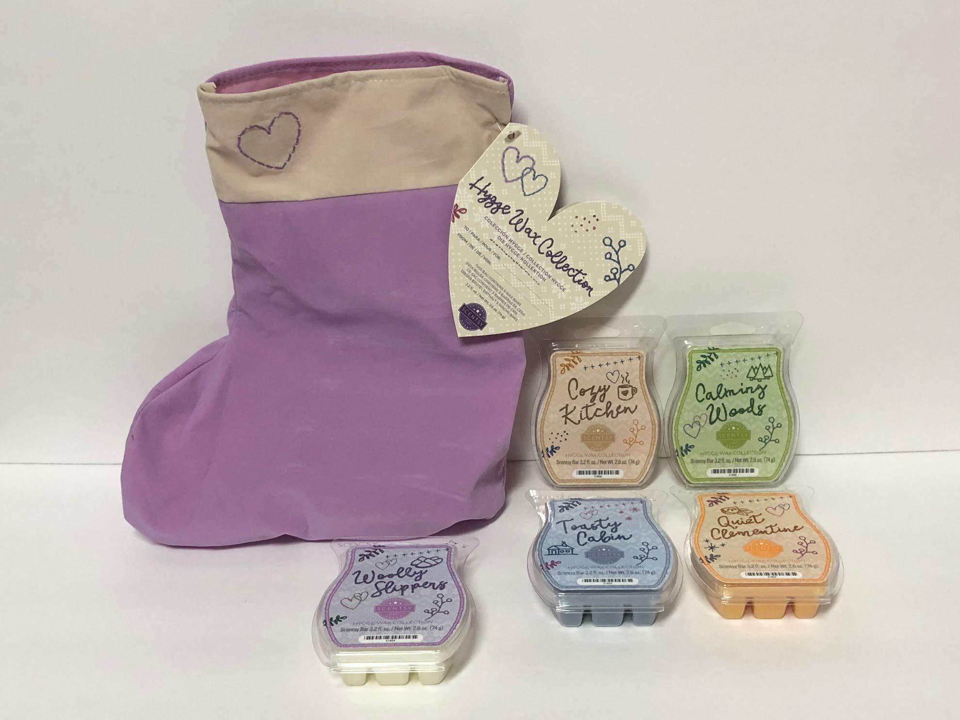 Scentsy Hygge Collection 5 Bar Bundle