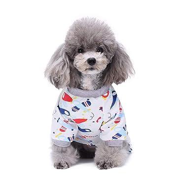 Bellalueees Escudo De Vestuario Perro Gatos Perros Del Perrito