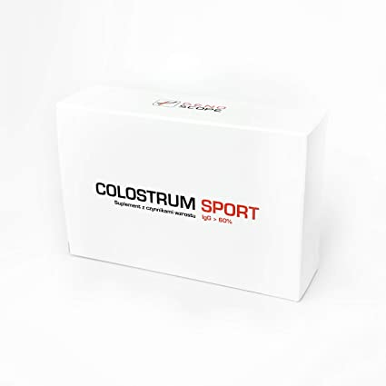 Genoscope - COLOSTRUM SPORT - 60 Tablets: Amazon.es: Belleza