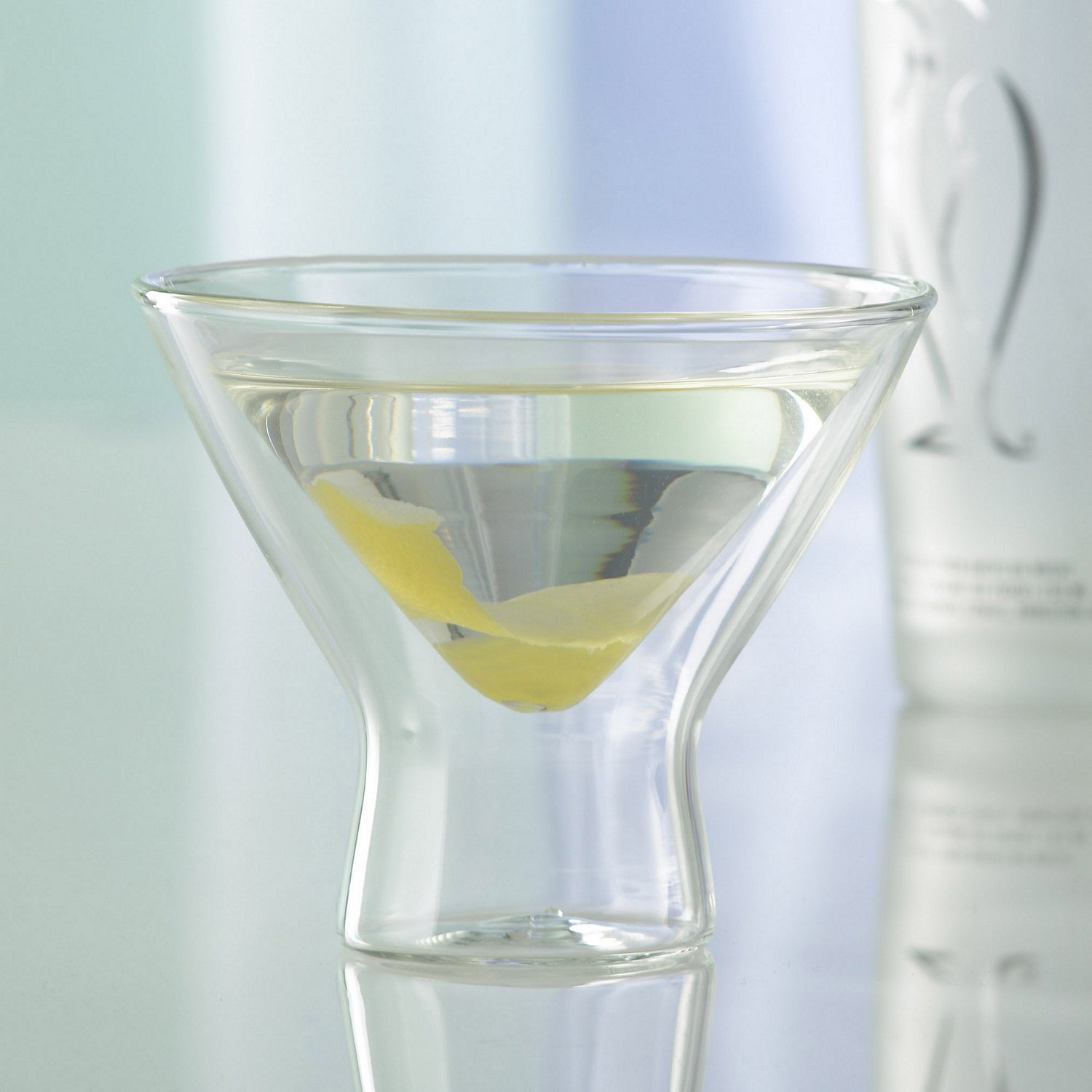 Wine Enthusiast (Kitchen), us kitchen Steady-Temp Martini Glasses (Set of 4), Clear by Wine Enthusiast (Image #3)