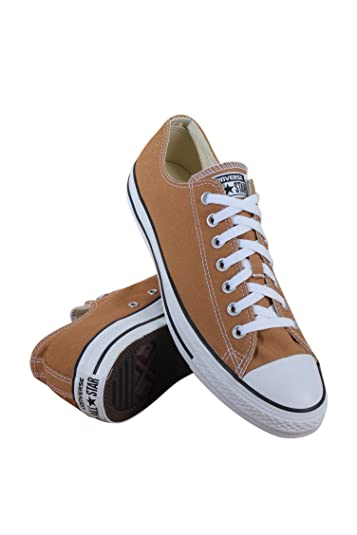 4d8391acf7b6 Image Unavailable. Image not available for. Color  Converse Unisex Chuck  Taylor All Star Ox Low Top Classic Raw Sugar Sneakers ...