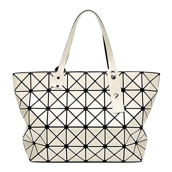 Ladies 7   8 Patent Leather Bright Face Handbags Japanese Trend Shoulder Bag  Lingge Rubik s Cube 3efd1853e8407