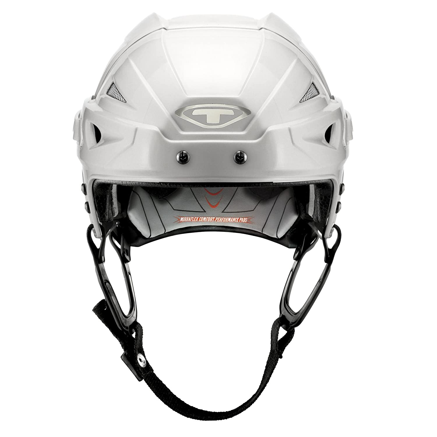 Tour Hockey Spartan Zx Hocley Helmet with No Cage, White, Large H95WHL