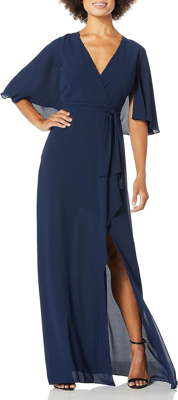 BCBGMAXAZRIA Women's Max 84% OFF Faux Capelet Tulsa Mall Gown Wrap