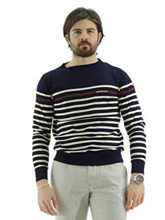 Moncler Men's Long sleeve Jumper blue blue X-Large