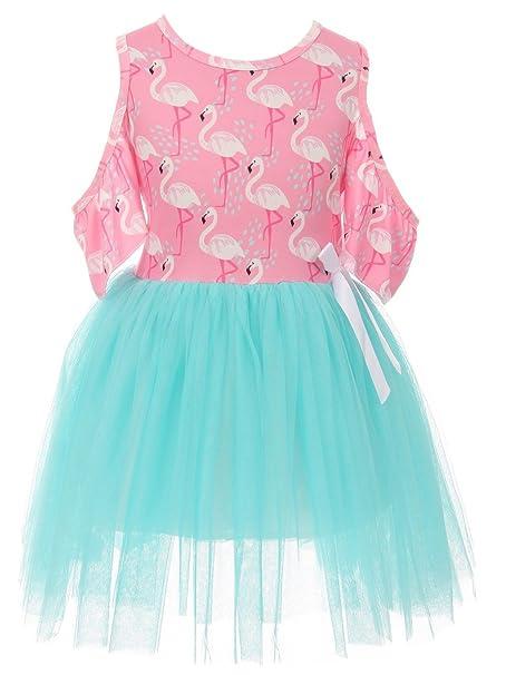 Amazon.com: blunight colección Little Girl vestido de niños ...