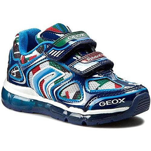 Zapatillas Niño GEOX JR Android Luces!!! J6244A (31)