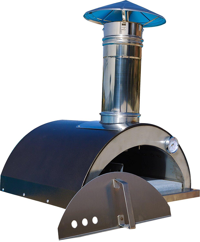 """Necessories Nonno Lillo Wood-Fired Outdoor Pizza Oven, 24"""" W, Copper"""