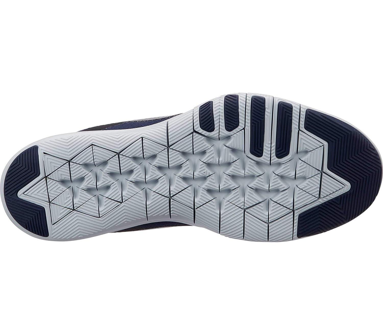 timeless design f485b d514b Nike Damen W Flex Trainer 8 PRM Fitnessschuhe Mehrfarbig (College Navy  Metallic Silver Black 400) 44 EU  Amazon.de  Schuhe   Handtaschen