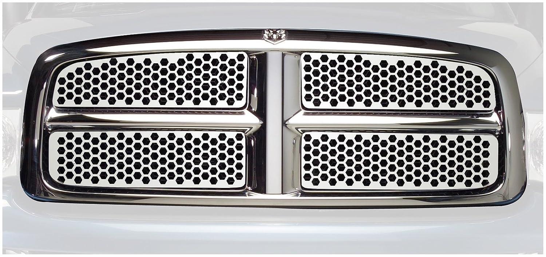 Putco 64502 Designer FX Honeycomb Stainless Steel Grille