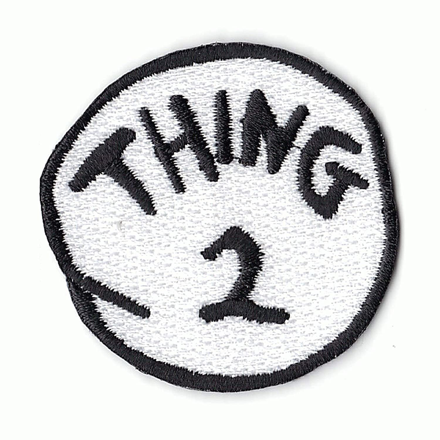Thing 2 DIY Iron On Embroidered Applique Patch Patch Collection