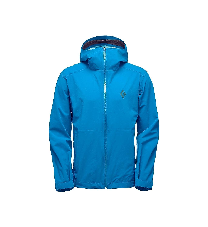 ブラックダイヤモンドStormlineストレッチRain Shell Jacket – Men 's B0797P91ND Small Kingfisher Kingfisher Small