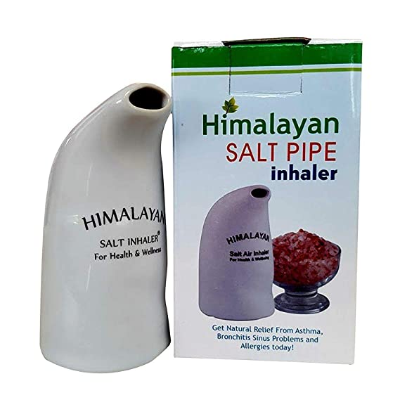 New Salt Inhaler Pipe Himalayan Crystal Salt Pipe Inhaler With