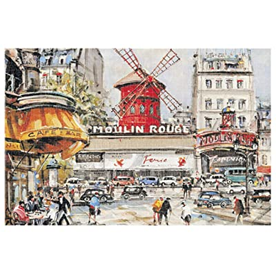 Dermanony 1000 Piece Jigsaw Puzzles for Adults, Kids Puzzles Toys-Good Educational for Teenagers: Clothing