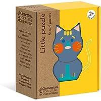 Clementoni - 16161TR - Play For Future - Little Puzzle - Hayvanlar, eğitici oyuncak