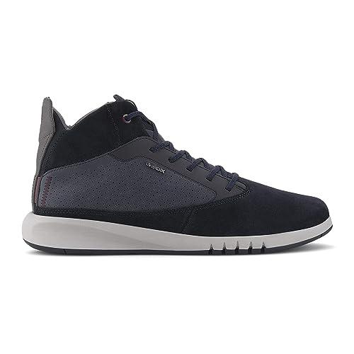 Geox Uomo Sneaker,Scarpe Sportive AERANTIS, Uomini Alto