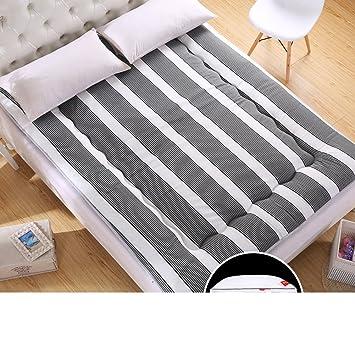 LLSVSDF Colchones Dormitorio Estudiante colchón Tatami Cama Individual Mat los Cojines de Esponja Son Cama matrimonial