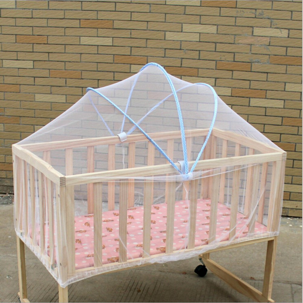 37yimu 1PCS tragbar Baby Kinderbett Moskitonetz Multifunktions-Wiege Betthimmel Netz