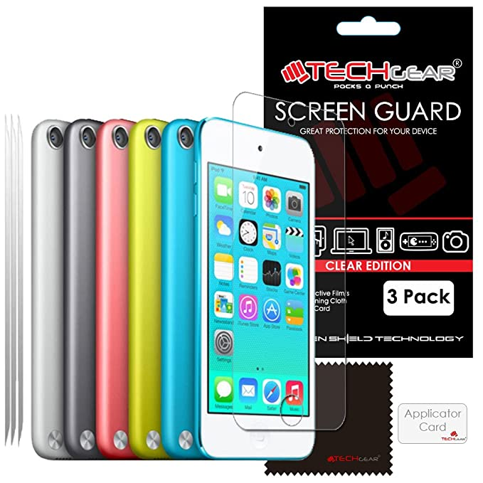 2 Pack 9H Hardness New iPod Screen Protector Guard Cover Film UCMDA Tempered Glass Protector for Apple iPod Touch 5th /& 6th Gen Scratch Resist iPod Touch 5th // 6th Generation Screen Protector