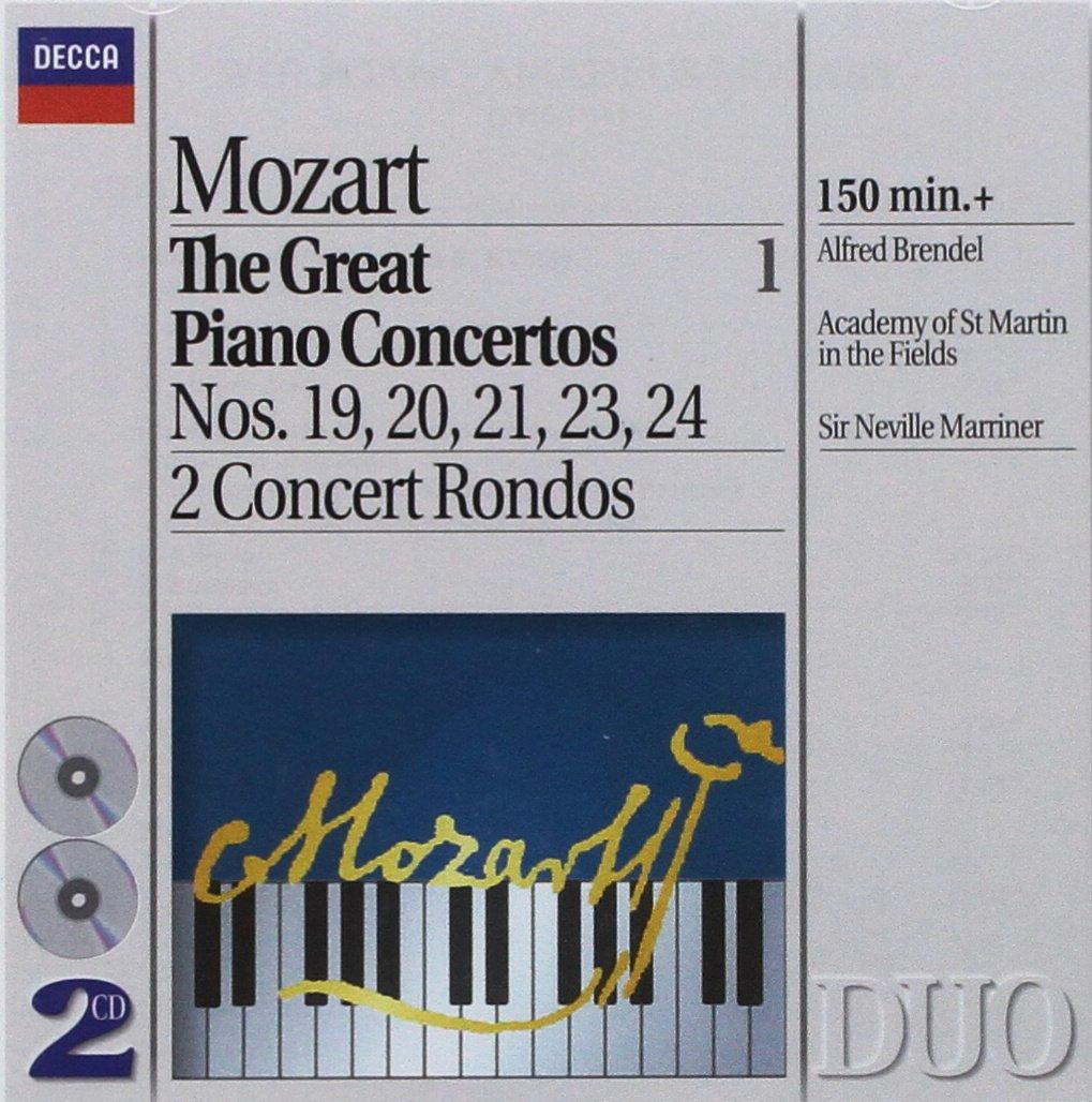 Mozart: Great Piano Concertos Vol. 1, Nos. 19 20 21 23 24