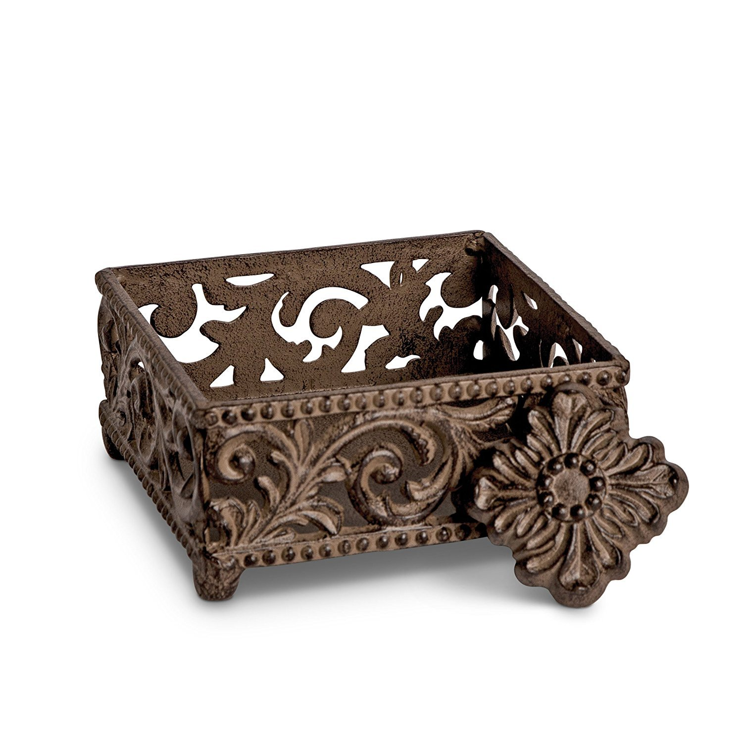 Acanthus Cocktail Napkin Holder by GG Collection