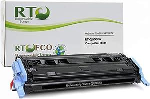 Renewable Toner 124A Compatible Toner Cartridge Replacement HP Q6000A for HP Color Laserjet 160026002605 CM1015CM1017 Series