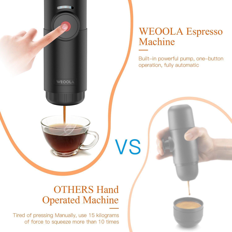 Máquina de Café Nespresso Automatic Portátil de Cápsulas, Cafetera ...