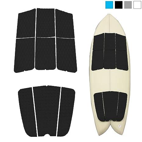 Amazon Com Abahub 9 Piece Surf Deck Traction Pad Premium Eva With