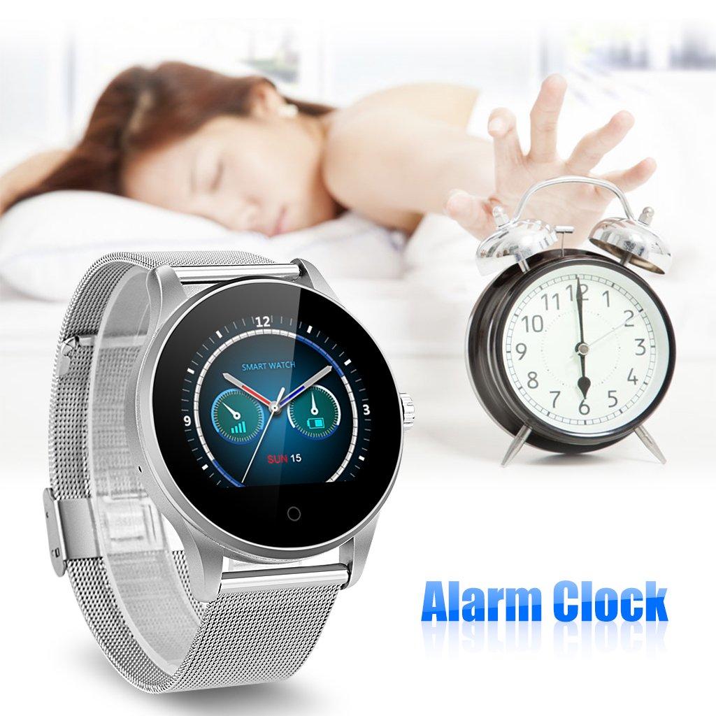 Excelvan K88H Montre Connectée Smartwatch Montre Intelligente Bluetooth V4.0 Podomètre Moniteur de Fréquence Cardiaque Sleep Monitor Call / SMS Reminder ...