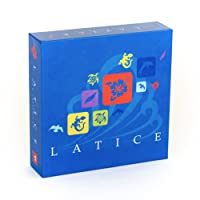 Adacio Latice Strategy Board Game - The popular new family board game for kids and adults, challenging fun for everyone