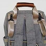 Amazon.com: Bolsa para pañales, bolsa para bebé, mochila ...