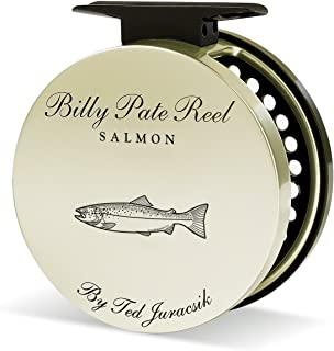 product image for Tibor Billy Pate Anti-Reverse Fly Reel - Salmon Model - Right Hand Retrieve with Free $50 Gift Card