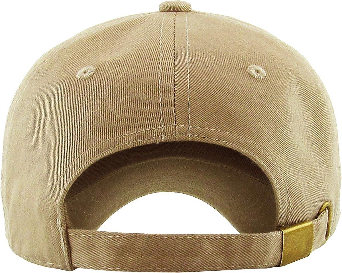 KBETHOS Fashion Dad Hat Baseball Cap Unconstructed Polo Style Adjustable