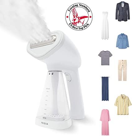Fridja f10 Handheld Clothes Steamer, 1500W Potente vapor de tela ...
